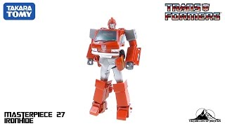 TakaraTomy Transformers MP-27 Masterpiece Ironhide Video Review