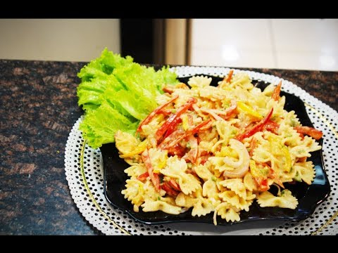 Pasta In Thousand Island Dressing Youtube