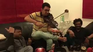Ram Gopal Varma Enjoying with his Upcoming Movie TUNES || HABIBI TALKIES ||