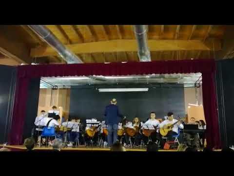 Otto e Mezzo eseguita dall'orchestra del Liceo Musicale dell'Isis Melissa Bassi