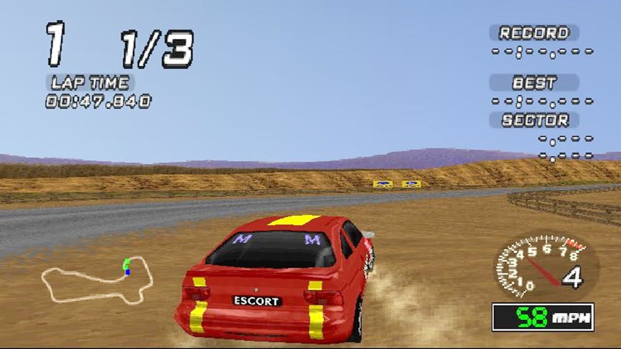 Ford Racing PS1 ROM #12