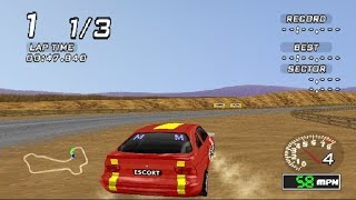 Ford Racing (PS1 Gameplay)
