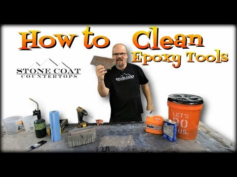 How to Clean Epoxy Tools