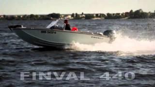 Алюминиевая лодка Finval 440(Демонстрация ходовых качеств алюминиевой лодки Finval 440. http://www.marineclub.ua/product/finval-440_2313.html Технические характер..., 2013-05-18T19:43:47.000Z)