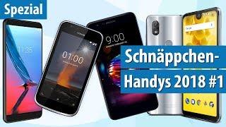 Die 5 besten neuen Handys unter 200 Euro! 📱📱Frisch von der Smartphone-Messe MWC 2018