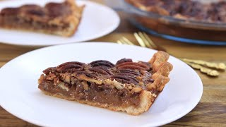 Pecan Pie Recipe | How to Make Pecan Pie