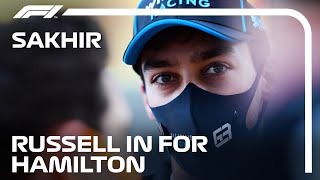George Russell Replaces Lewis Hamilton At Mercedes For Sakhir Grand Prix
