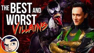 Best & Worst Villains - Comics Experiment RnBe