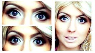 Визуально увеличиваем глаза(ВАЖНАЯ ИНФОРМАЦИЯ ВНУТРИ:) Если эти 2 предмета находятся в косметичке то можно без особых усилий визуально..., 2012-09-01T13:51:51.000Z)