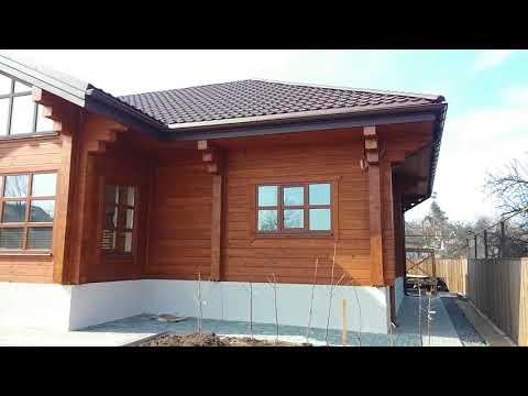 Деревянный дом из клееного бруса (часть 3)