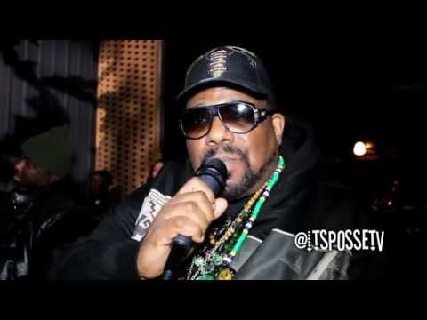 Afrika Bambaataa - Interview at Universal Zulu Nation 41st A