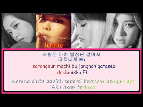 [INDO Subs] BLACKPINK - Playing With Fire Lyrics (불장난) Han|Rom|Indo Color Coded
