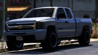 GTA V Chevrolet Silverado 1500 Mod