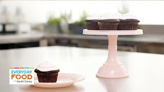 3 Chocolate Cupcakes Recipes With Surprise Fillings - Everyday Food With Sarah Carey