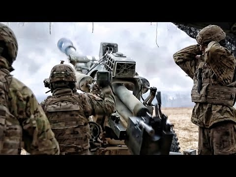 NATO Artillery In Germany • Exercise Dynamic Front 18