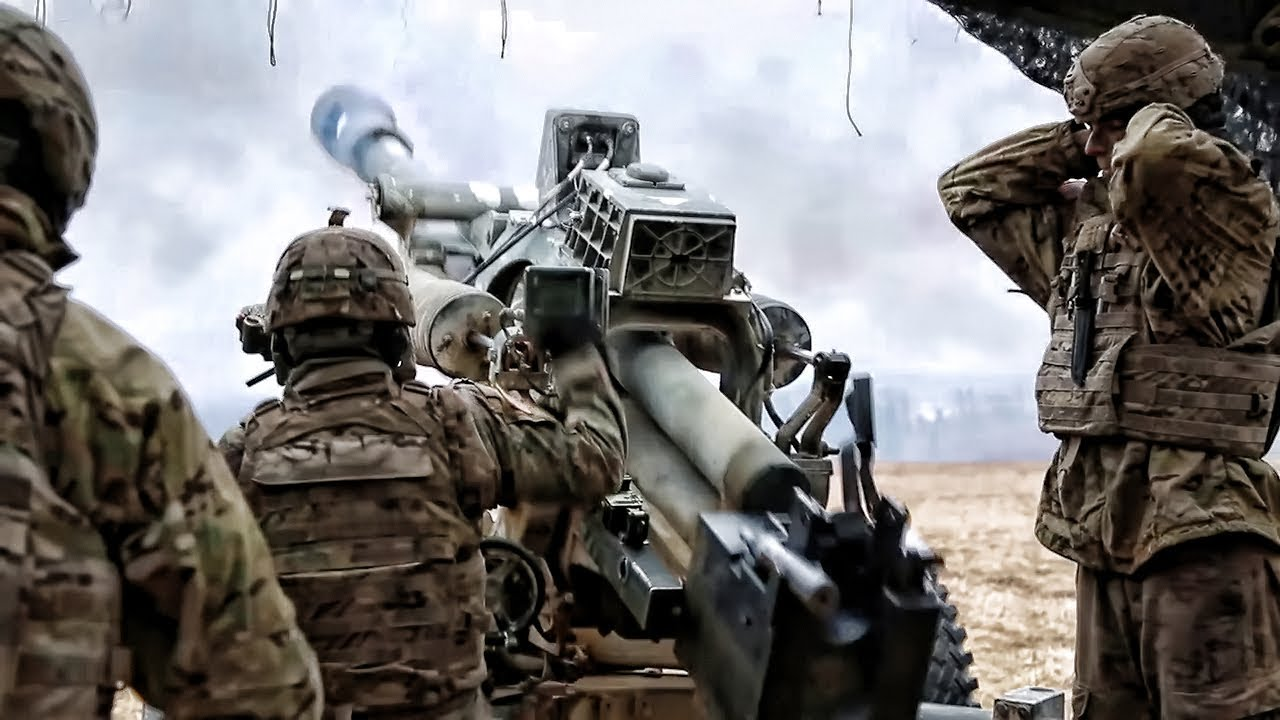 NATO Troops • Artillery Fire Mission • Exercise Dynamic Front