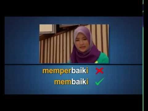EduwebTV: BAHASA MELAYU Tingkatan 3 - Jerayawara Bahasa: Kesalahan Imbuhan (2)