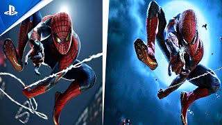 Spider-Man Remastered PS5 | The Amazing Spider Man Suit | Game vs Movie Comparison