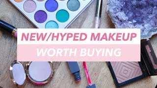 Casual Makeup Recs: NEW/HYPED Makeup WORTH BUYING | Mariah Leonard
