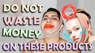 Horrible Products for face Slimming On AMAZON!! - Honest Review by Shakila !