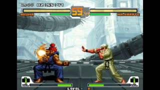 [TAS] SNK vs. Capcom: SVC Chaos - Akuma