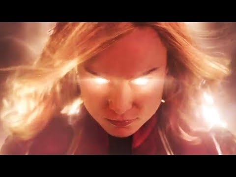 All The Highlights From Brie Larson's FIRST Captain Marvel