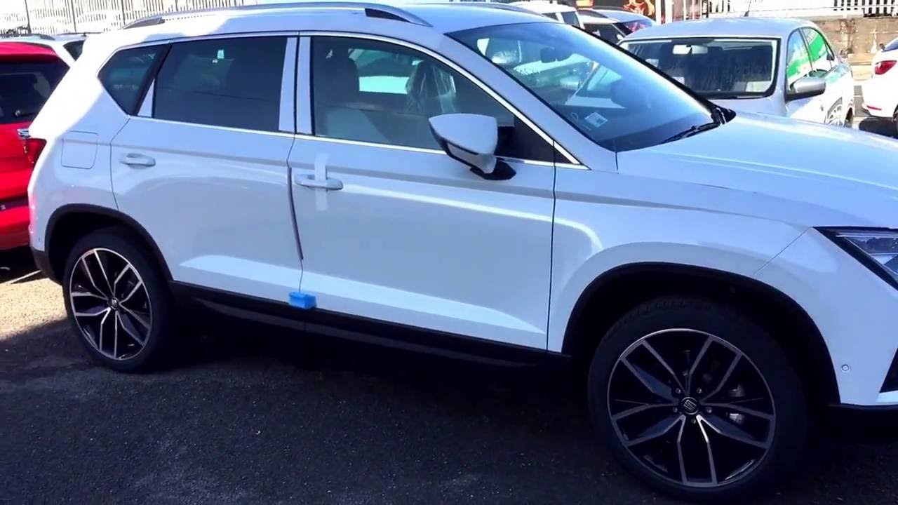 new seat ateca for test drive at white dove seat cardiff south wales youtube. Black Bedroom Furniture Sets. Home Design Ideas