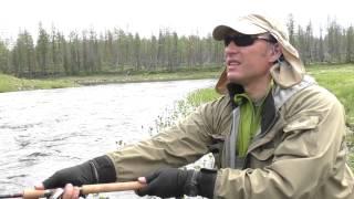 Лов харіуса на цикаду + Сибірський таймень на спінінги Norstream