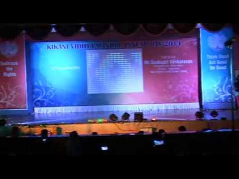 Kikani Vidhya Mandir Annual Day 2015 - Traditional Fusion