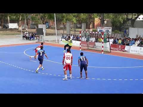 28 National HandBall championship 2018 Army vs Wapda 1st half