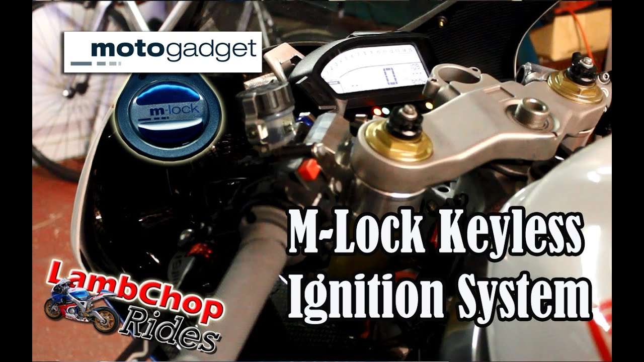 Motogadget m-Lock digitales Zündschloss