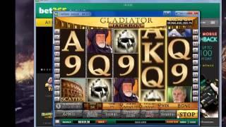 The Gladiator Online Casino slot game(Play the Gladiator here: https://imstore.bet365affiliates.com/Tracker.aspx?, 2013-10-03T19:49:29.000Z)