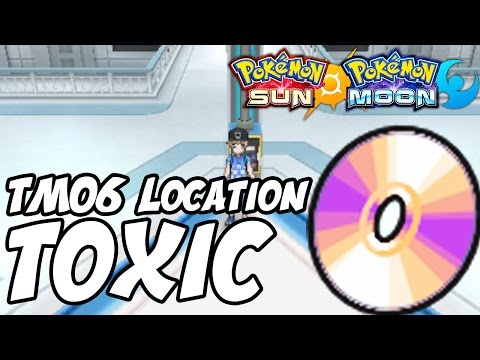 How to Get Toxic Location – Pokémon Sun and Moon TM 06 Toxic Location