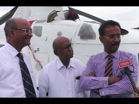 India 's first Air Ambulance at Ganga Hospital,Coimbatore, has revolutionised emergency medical care