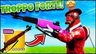 THE NEW FUCILE FROM FANTERIA IS ASSURDO! ROYAL VICTORY! FORTNITE ITA