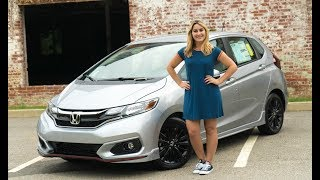 2018 Honda Fit Sport (Manual) Review and Test Drive | Herb Chambers