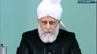 Freitagsansprache 1. April 2011 - Gehrorsam gegenüber dem Staat - Islam Ahmadiyya