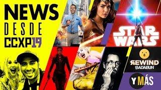 News ComicCon Brasil: Marvel, DC, Adam Sandler al Oscar, Starwars, Badabun, Rewind y más
