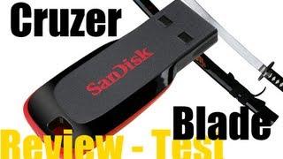 Обзор флеш накопителя - Sandisk Cruzer Blade 8Gb Review and Test - USB Flash drive