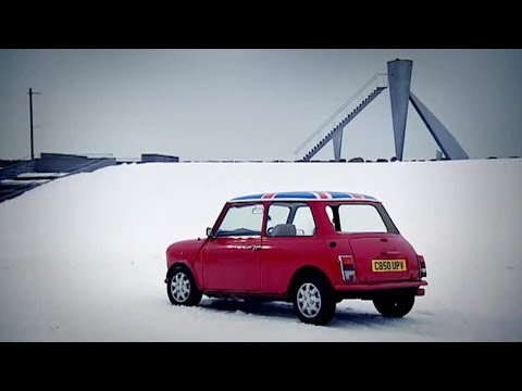Mini Ski Jump (Part 1) Top Gear Winter Olympics | BBC