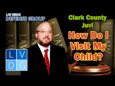 How do I visit my child at Clark County Juvenile Detention Center? Las Vegas, Nevada