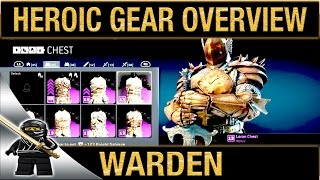 vuclip For Honor Warden Heroic Gear Overview (Reputation 5)