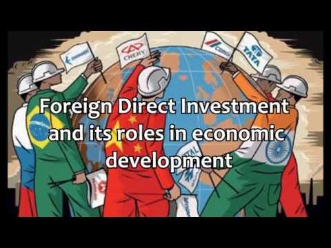 Foreign Direct Investment and its Roles in Economic Development