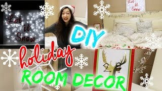 DIY Holiday Room Decor! | 5 DIYs Under 5 Dollars Thumbnail