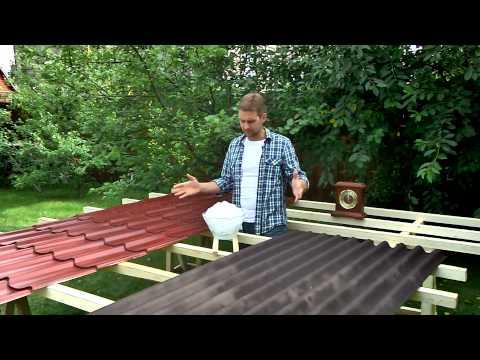 Как кровельный материал Ондулин продлевает срок службы крыши
