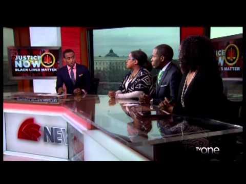 Jeff Johnson Hosts NewsOne Now - Black Lives Matter and Obesity
