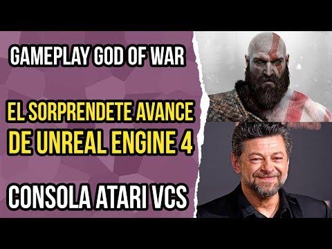 Noticias de Videojuegos 59 - Atari VCS, God of War, Unreal Engine 4, Afterparty