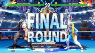 EVO 2016 FUUDO (R.Mika) vs INFILTRATION (Nash) GRAND FINAL Street Fighter 5