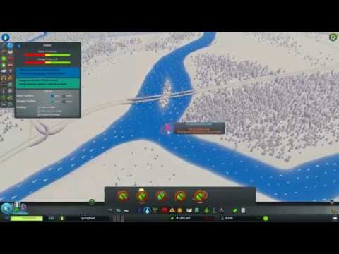 Cities: Skylines - Extreme Hydroelectric Damming