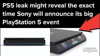 PS5 Reveal Event To Happen In Less Than 24 Hours!